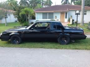 Buick Regal Grand National Gnx 1986 Buick Regal Grand National Gnx Clone For Sale Photos