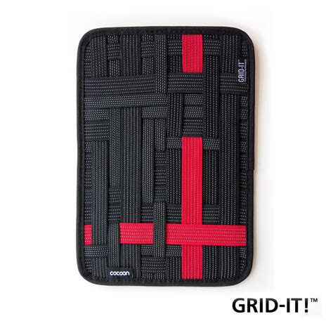 Grid It Organizer Gadget Kit Organizer Murah 31 21cm cocoon grid it wrap cover organizer system kit electronic gadgets travel square
