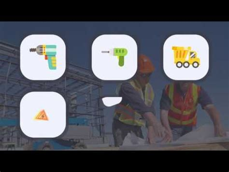 Flat Animated Icons Construction Building Pack After Effects Template Youtube Animated Emoticons Pack After Effects Template