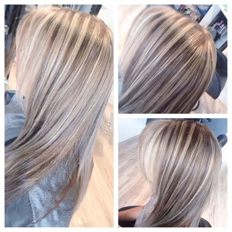 blonde and dark blonde highlights stand out with ash blonde highlights hairstyle ideas