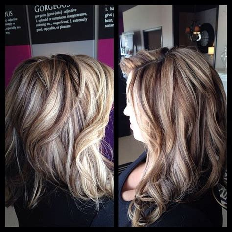add depth and dimension to your hair with highlights this people is what adding a darker color does to blonde