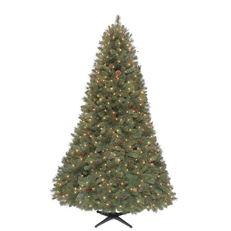 Sears Trees Pre Lit - ty pennington style 7 5 ft clear pre lit kensington