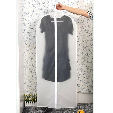 Cover Pakaian Cloth Dust Cover dust proof clothes suit garment dress cover bag clear bf ebay