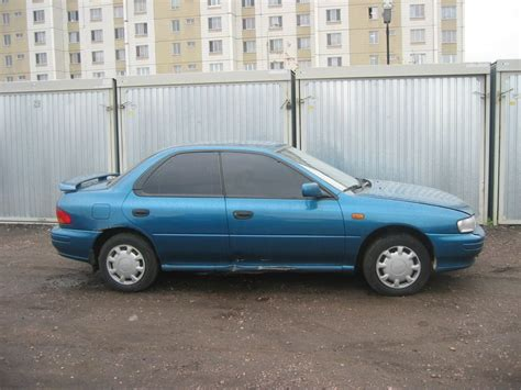 subaru impreza 1995 1995 subaru impreza pictures 1800cc gasoline manual