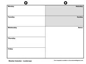 weekly calendar template printable free 2017 calendar
