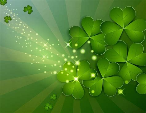 shamrock backgrounds free wallpaper cave
