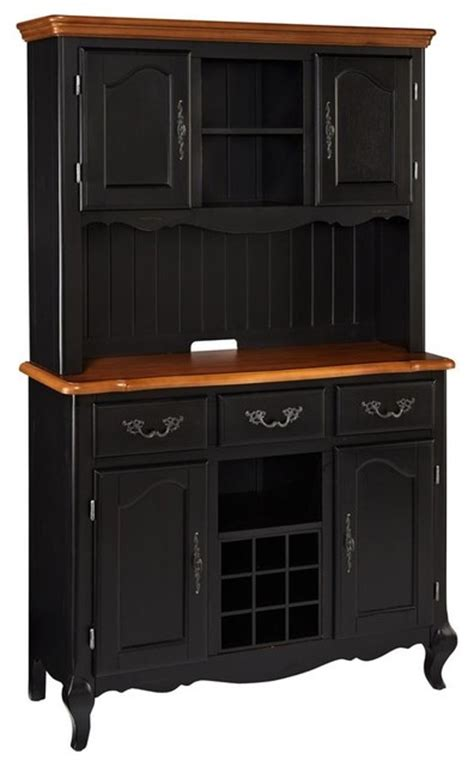 black china cabinet hutch buffet oak and rubbed black buffet and hutch traditional china cabinets and hutches