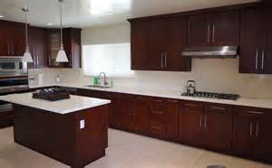 Mahogany Kitchen Cabinets Mahogany Shaker Kitchen Cabinets Ready To Assemble