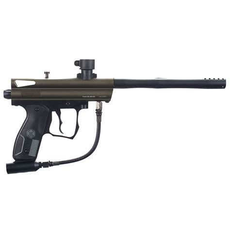 spyder victor paintball gun olive badlands paintball