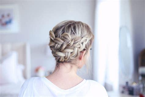 cute girl hairstyles easy braids easy diy crown braid cute girls hairstyles