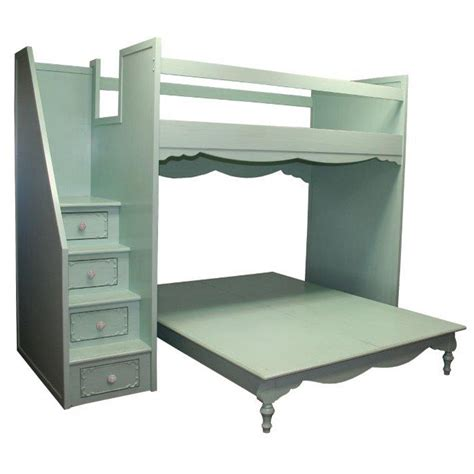 bunk bed queen simply elegant fantasy full over queen bunk bed by country
