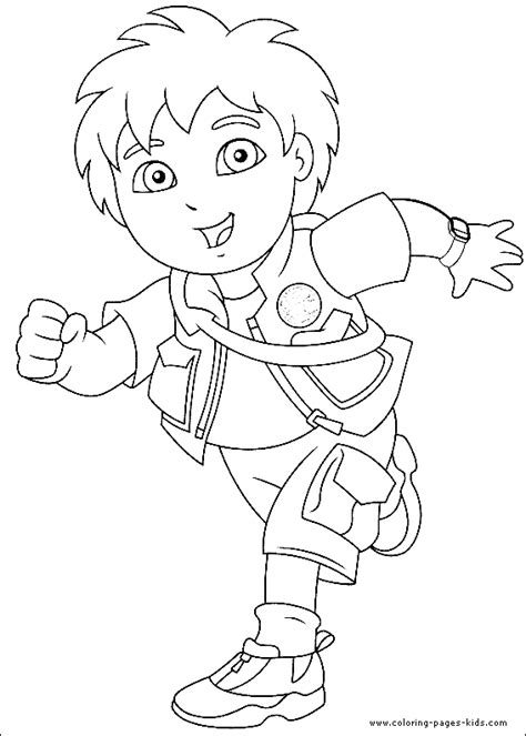 diego coloring sheet