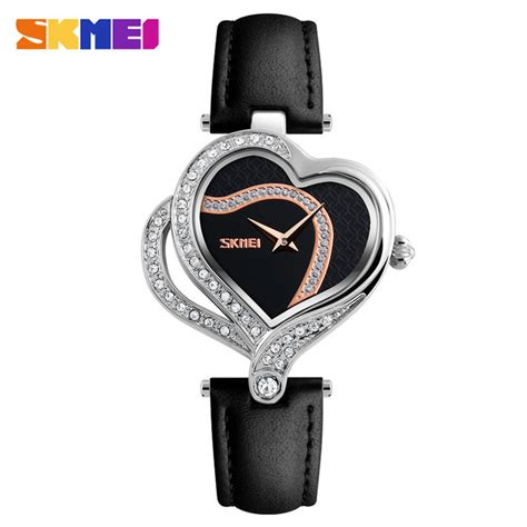 Jam Skmei Wanita Fashion skmei jam tangan fashion wanita 9161 black