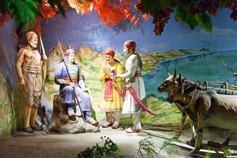 1 Wall Mural exhibit pratap museum haldighati rajasthan india