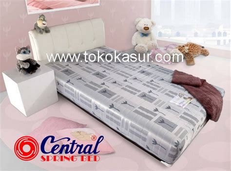 Kasur Bed Ukuran No 1 central sporty white x1 toko kasur bed murah simpati furniture
