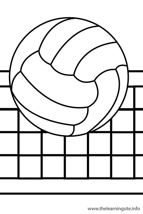 coloring pages volleyball free volley ball coloring pages