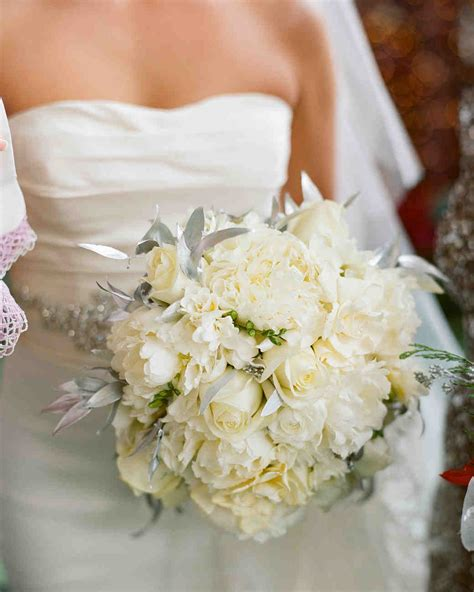 White Wedding Bouquets For Brides by 37 Absolutely Gorgeous Winter Wedding Bouquets Martha