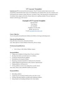resume templates for teenagers resume exles for berathen