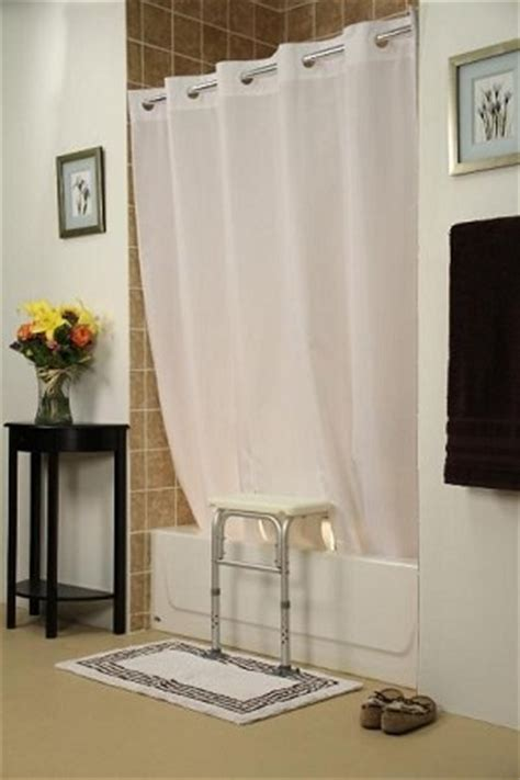 transfer bench shower curtain bench buddy hookless shower curtain simplicity for tub