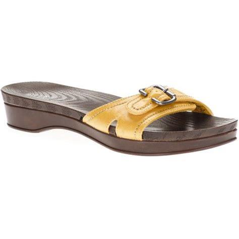dr scholls womens shoes walmart dr scholls womens land slide buckle sandal shoes