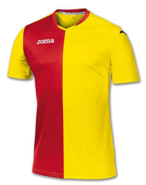 Only Pink Yellow E M O R Y Cervore Series 01emo316 premier maglia giallo rosso m c joma