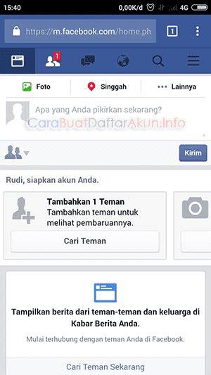 membuat akun baru facebook lewat hp cara daftar akun facebook baru lewat hp dengan nomor untuk