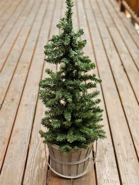 how to decorate an outside christmas tree outdoor decorating idea mini tree hgtv