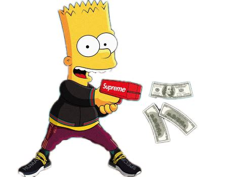 bart simpson simpsons rich supreme 420 homer bartsimpso...