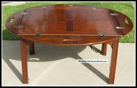butler tray coffee table antique baker furniture antique furniture