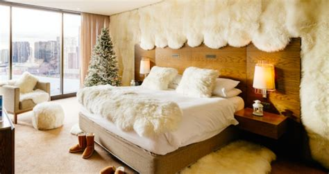theme hotel melbourne hilton s melbourne hotels create winter themed rooms with