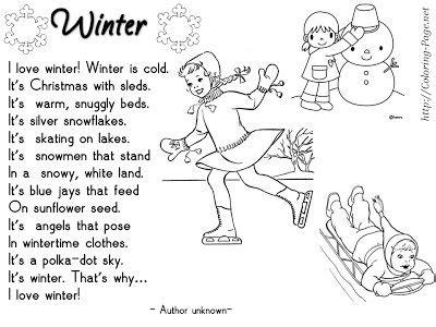 Winter Season Essay For Class 8 by Enjoy Teaching Winter Poems My Enjoy Teaching