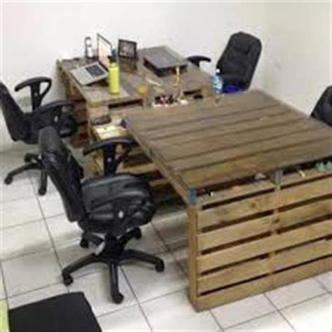 Office Desk Made From Pallets Pallet Office Desk Plan Pallets Designs