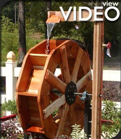 backyard water wheel custom wooden water wheels water wheel for home and