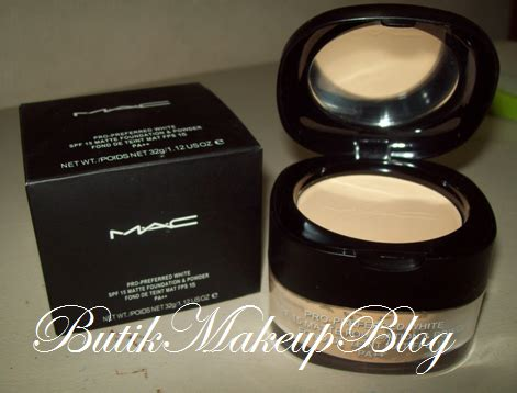 Bedak Jenama Mac butik makeup koleksi makeup mac