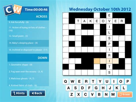 easy crossword puzzles app 5 daily ipad crossword apps to do while you wait ios