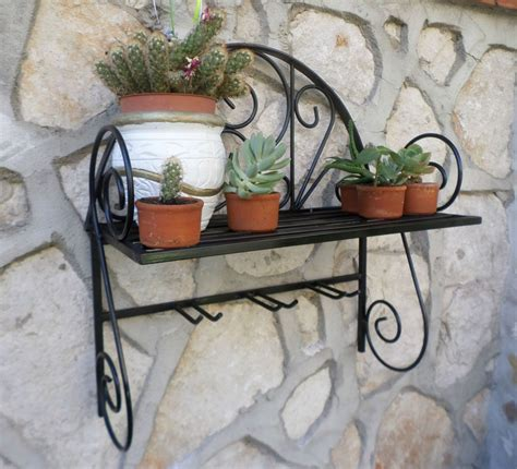 vasi porta piante mensola fioriera porta piante porta vaso in ferro battuto