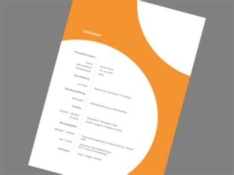 Bewerbung Design Vorlage Kostenlos musterbewerbung vorlagen bewerbung agentur