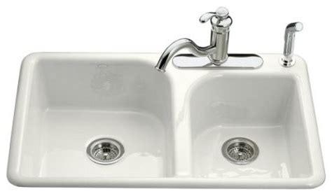 Dr Faucet by Kohler K 5948 4 96 Efficiency Self Kitchen Sink