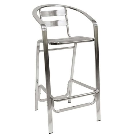 bar stool aluminum american tables seating 55bs aluminum bar stool slat
