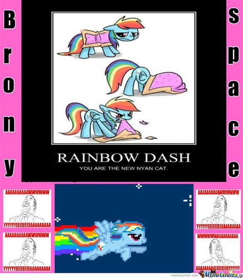 Internet Rainbow Meme - team rainbow dash by radon online meme center