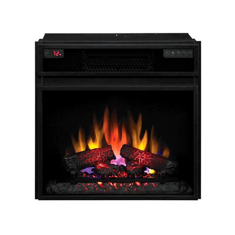 electric fireplace insert with heater classic 23 electric fireplace insert with infrared