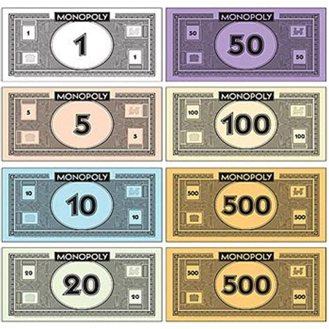 printable monopoly money template the gallery for gt monopoly money template