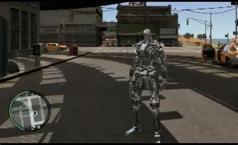 mod game gta 4 pc terminator t 1 gta iv pc mod is awesome video