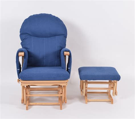 habebe recliner glider chair glider recliner chair blue comfortable glider chair and