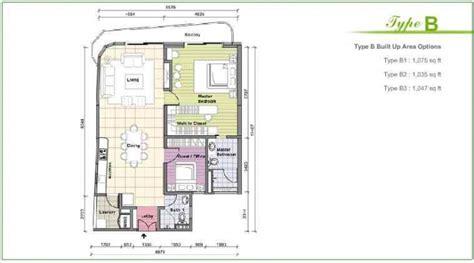Dua Residency Floor Plan idaman residences properties kuala lumpur city