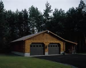 Log Garage Kits by Log Garage Kits With Loft Wolofi
