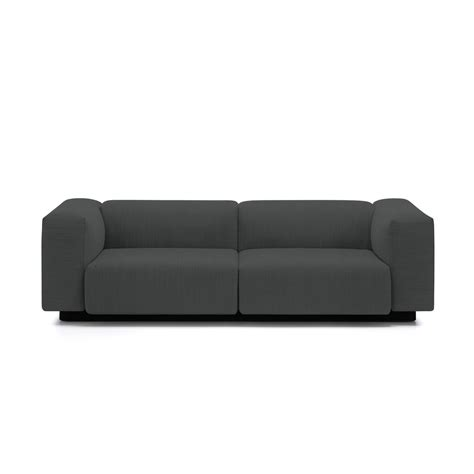 vitra couch soft modular 2 seater sofa from vitra in the connox shop
