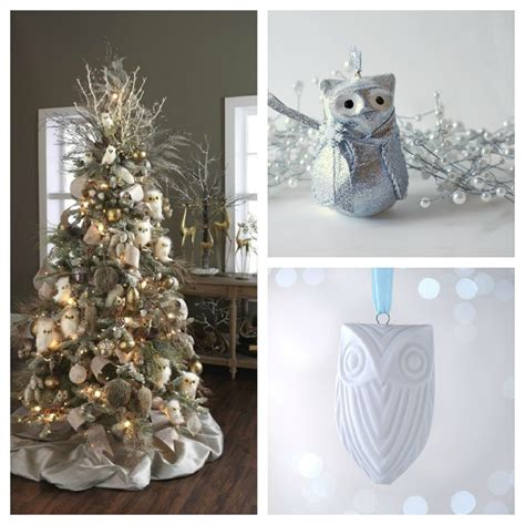 christmas tree color and decor schemes setting for four