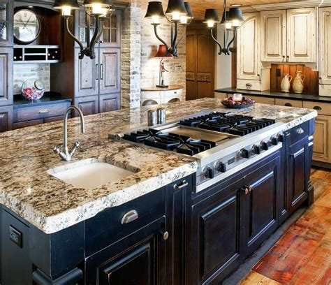 kitchen islands with stove 30 attractive kitchen island designs for remodeling your kitchen