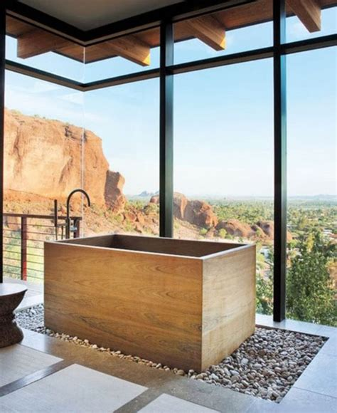 japanese soaking bathtub 30 peaceful japanese inspired bathroom d 233 cor ideas digsdigs